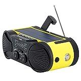 Emergency Weather Radio 4000mAh -...