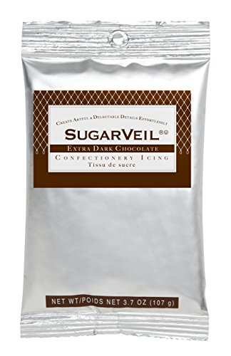SugarVeil® Extra Dark Chocolate Confectionery Icing