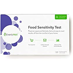 EverlyWell - at-Home Food Sensitivity Test- Learn How Your Body Responds to 96 Different Foods (Not Available in MD,New York, NJ, RI)