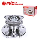 FKG 512018 Rear Wheel Bearing Hub Assembly fit for 1993-2002 Toyota Corolla, 1998-2002 Chevy Prizm, 1993-1997 Geo Prizm, 4 Lugs 4 Bolt Non Abs