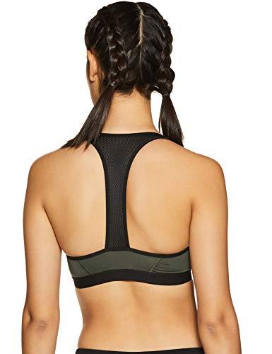 Amante Medium Impact Wirefree Front Zip Sports Bra