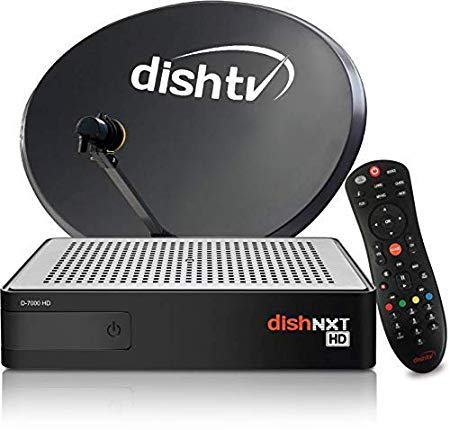 Dish TV HD Set top Box with 1 Month Super Family HD Pack 135