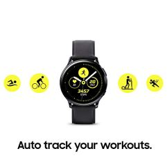 Samsung-Galaxy-Watch-Active2-W-Enhanced-Sleep-Tracking-Analysis-Auto-Workout-Tracking-and-Pace-Coaching-40mm-Aqua-Black-US-Version-with-Warranty