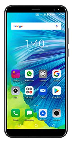 41zfGpgIKCL - Xifo Ismart I1 Epic 4G Volte 5.5 Inch Display 4G Smartphone (2GB RAM, 16GB Storage) in Red Black Colour