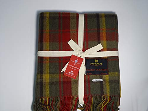 Patrick King Woollen Company Deluxe Highland Collection Blanket