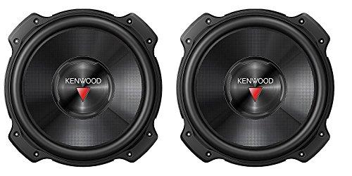 "2) NEW Kenwood KFC-W3016PS 12"" 4000 WATT Car Audio Subwoofers Subs Woofers 4 Ohm"