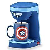 Marvel Capitán América - Cafetera con taza