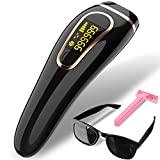 Beamia IPL Permanent Hair Removal System Painless 999,999 Flashes Facial Whole Body At-Home Hair Remover Device for Women Men