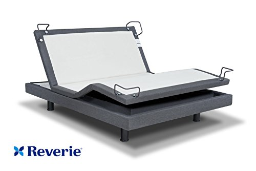 Reverie 7S Adjustable Bed From The Makers Of The Tempurpedic Ergo W/Bluetooth Option (Queen, With Bluetooth)