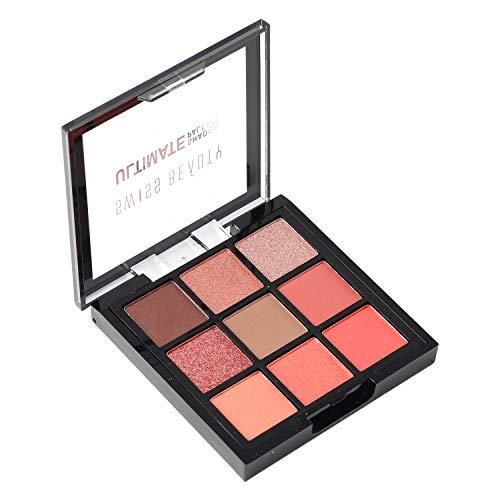 Swiss Beauty Ultimate 9 Color Eyeshadow Palette, Eye MakeUp, Multicolor-02, 9g