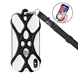 ROCONTRIP Universal Cell Phone Lanyard Holder (Black)