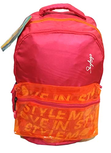 41zxmgThzqL - Skybags Figo 02 32 Ltrs Pink Casual Backpack (FIGO 02)