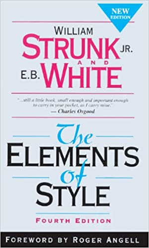 Image result for Strunk & White's 'The Elements of Style'
