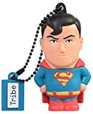 Tribe DC Comics Warner Bros. Pendrive Figure 16 GB Funny USB Flash Drive 2.0, Keyholder Key Ring, Superman (FD031501)