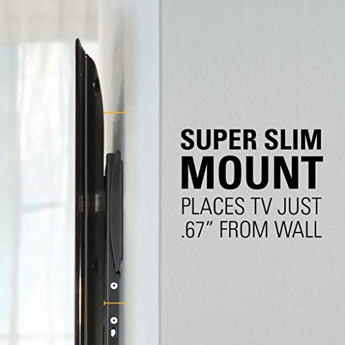Sanus Super Slim Fixed TV Wall Mount for Most 32' - 64' TVs (BLL2-B1) Black - New