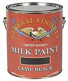General Finishes Milk Paint (1 Gallon, Lamp Black)