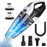Cordless Handheld Vacuum, 8Kpa Wet Dry Hand Vacuum Cleaner with Multi-Functional Accessories, 14.8V Lithium with Quick Charge, Lightweight Hand Vac for Home Pet Hair Car Cleaning by BEAUDENS