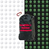 HeadShot Ammo [110 Rounds] Nerf Rival Compatible Ammo Bulk Glow in The Dark Foam Bullet Ball Replacement Refill Pack for Apollo, Zeus, Khaos, Atlas, and Artemis Blasters (White, Glow-in-The-Dark)