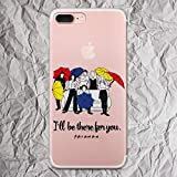 Friends iPhone 7 8 6 6s plus X Xs Max Xr case TV Show Merchandise for iphone 5 5s se 5se 4 4s Shirt sweatshirt patch hoodie tshirt gifts print clear silicone cover