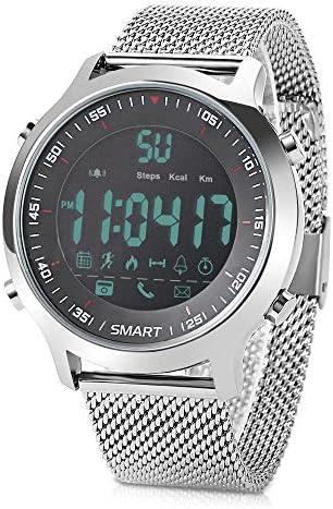 51%2B4y3SjX5L. AC  - Redlemon Smartwatch Reloj Inteligente Sport con Pantalla Digital, Resistente al Agua, Notificaciones de Llamadas, Redes Sociales y Mensajería, Funciones Deportivas, Podómetro, Hasta 6 Meses de Batería #Amazon