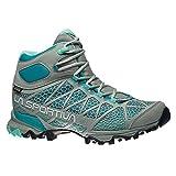 La Sportiva Women's Core High GTX Trail Hiking Boot, Grey/Mint, 37 M EU