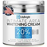 Skin Whitening Cream - USA Made - Skin Bleaching Cream for Body, Face, Sensitive & Intimate Areas - 50 ML - Private Parts & Underarm Whitening Cream - Skin Lightening & Nourishing - Natural Skin Care