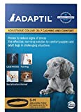 Adaptil Dap Calming Pheromone Odorless Adjustable Collar for Stressful Small Dogs or Puppy Training max. Neck Size 14.7-Inch by Ceva