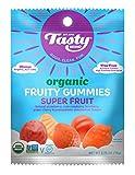 Tasty Brand Organic Fruit Snacks, Superfruit Flavors, 2.75-ounce Bags (Pack of 6)
