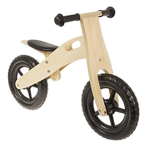 Anlen Ultra-Light 12 Black Wooden Running/Balance Bike