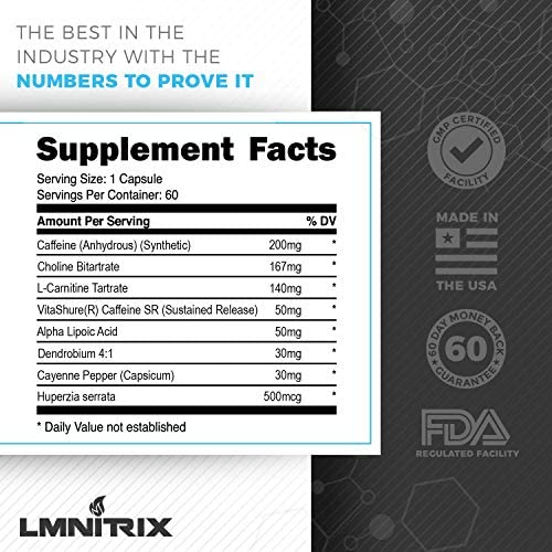 Burnz ✮ Thermogenic Fat Burner ✮ Powerful Weight Loss Aid, Stronger Than Most Diet Pills ✮ 60 Capsules 4