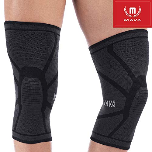 Knee Brace Compression Sleeves Support by Mava