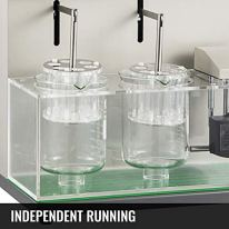 VEVOR-Disintegration-Tester-BJ-2-Lab-Disintegration-Instrument-Double-Cup-Tablet-Disintegration-Testing-30-32min-Lab-Disintegration-Tester-Preset-Time-and-Temperature-Tablet-Disintegration-Tester