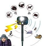Tool Parts - Solar Ultrasonic Animal Driver Outdoor Dog Cat Garden Orchard Bird Repeller Infrared Sensor Drive - Organizer Parts Tray Tool Storage Direct Cart