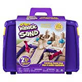 The One and Only Kinetic Sand, Folding Sand Box with 2lbs of Kinetic Sand