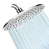Shower Head- High Pressure Rainfall Shower Heads- WarmSpray 9'' Luxury Thin Top ABS Rain Shower Head- For the Amazing Rainfall Spray Shower Relaxation