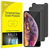 JETech Privacy Screen Protector for iPhone Xs and iPhone X, Anti Spy Tempered Glass Film, 5.8-Inch, 2-Pack