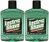 Williams Lectric Shave Electric Razor Pre-Shave with Soothing Green Tea Complex-7 oz, 2 pk