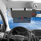 SAILEAD Polarized Sun Visor Sunshade Extender for Car with Polycarbonate Lens, Anti-Glare Car Sun Visor Protects from Sun Glare,UV Rays, Universal for Cars, SUVs