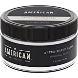 American Shaving After Shave Balm For Men (4oz) - Original Masculine Scent - 100% Natural Moisturizing Aftershave Lotion - Best Aftershave For Men to Soothe & Hydrate Dry Skin (Packaging May Vary)