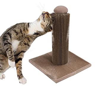 SmartyKat Brush Up Cat Grooming Post