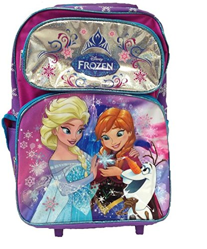 Frozen Large Rolling Backpack - Disney Fever New 653026