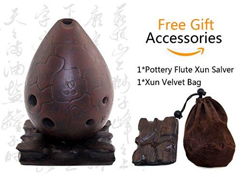 Ceramic Chinese Xun Flute