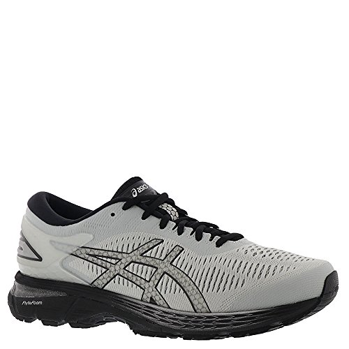 ASICS Gel-Kayano 25 Men's Running Shoe, Glacier Grey/Black, 10.5 2E US