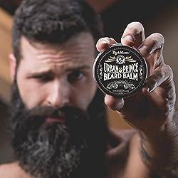 Urban Prince Beard Balm Leave in Conditioner Beard Butter Moisturizer Premium Refreshing Scent 2 oz - Best Leave in Conditioner Scented Beard Balm Gift Bearded Men  Image 4
