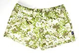 Patagonia New Womens Supply Green Floral Barely Baggies 2.5'' Shorts Size XL