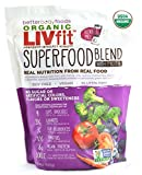 BetterBody Foods LIVfit Superfood Protein Blend 720 Grams, 60 Day Supply
