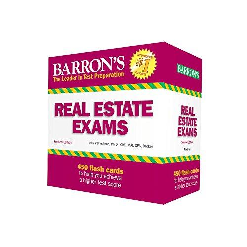 Barron's Real Estate Exam Flash Cards