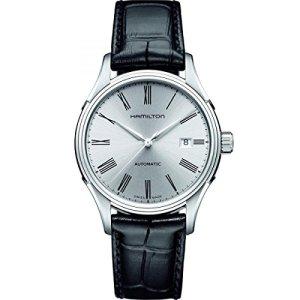 Hamilton Men's H39515754 Valiant Analog Display Automatic Self Wind Black Watch