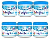 Bright Air Solid Air Freshener and Odor Eliminator, Cool and Clean Scent, 14 Ounces, 6 Pack