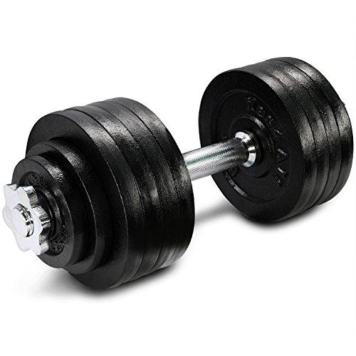 52.5 lbs Adjustable Cast Iron Dumbbell - ²DL2ZZ